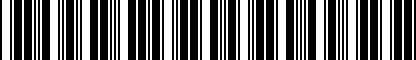Barcode for 200151597